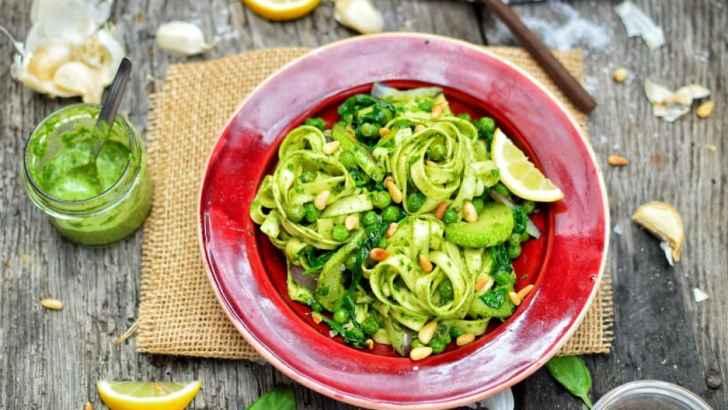 Vegan Pesto Pasta | Classic Italian Recipe
