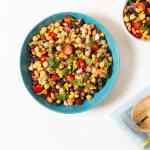 Fresh Bean & Corn Salad Recipe | World of Vegan | #salad #beans #vegan #lunch #worldofvegan