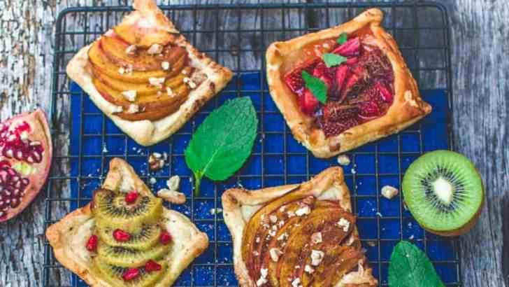 Mini Vegan Fruit Tarts