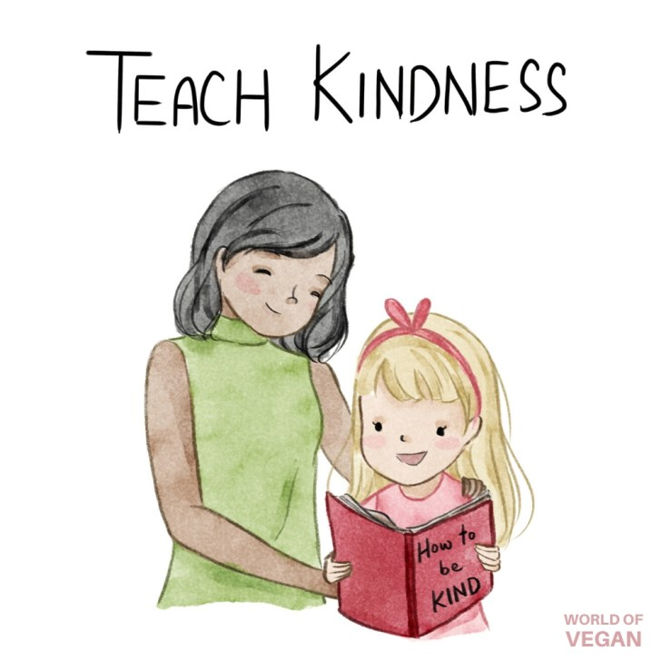 Teach Kindness to Children—World of Vegan Kids Book Guide