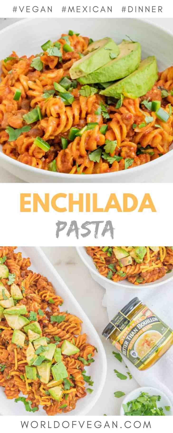How to Make Vegan Enchilada Pasta Photo