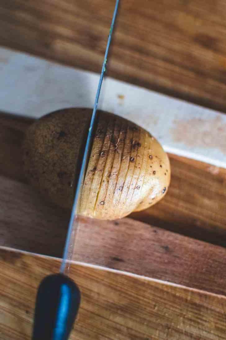 How To Slice The Potato