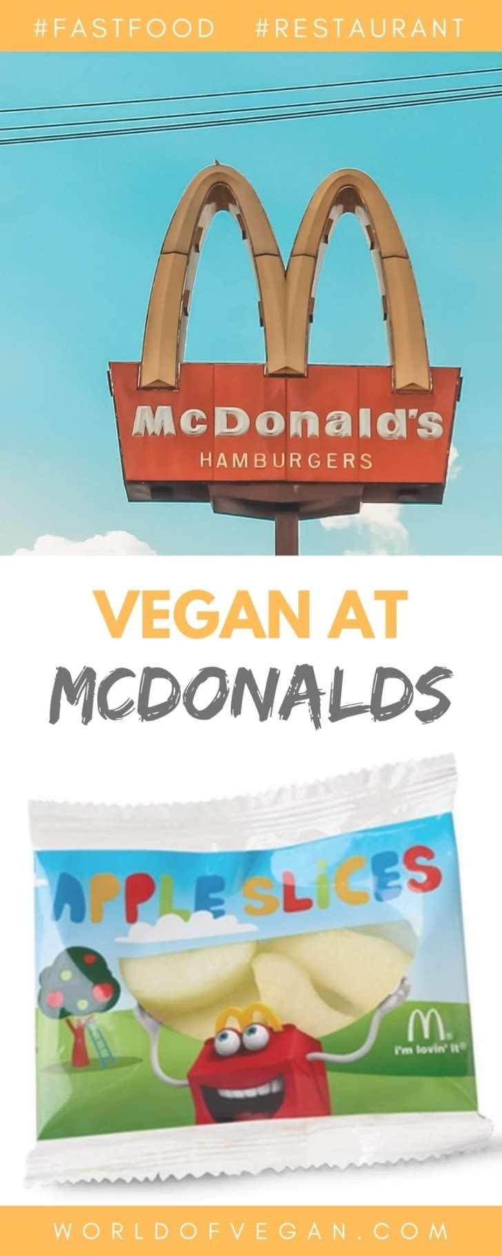 How to Order Vegan at McDonalds