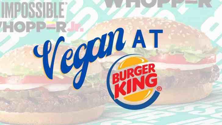 How to Order Vegan at Burger King
