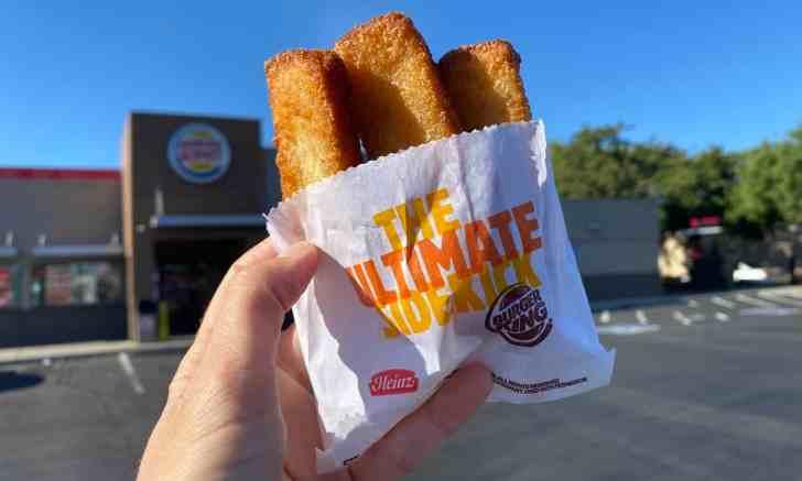 Vegan Burger King French Toast Sticks Photo