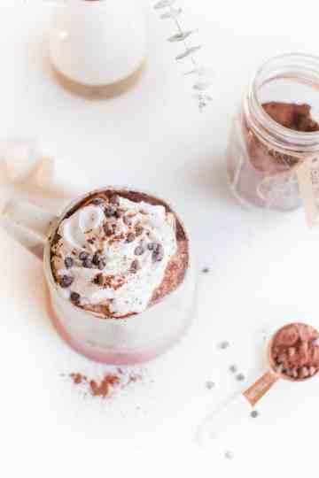 Vegan Hot Cocoa Recipe With Coconut Whipped Cream -55