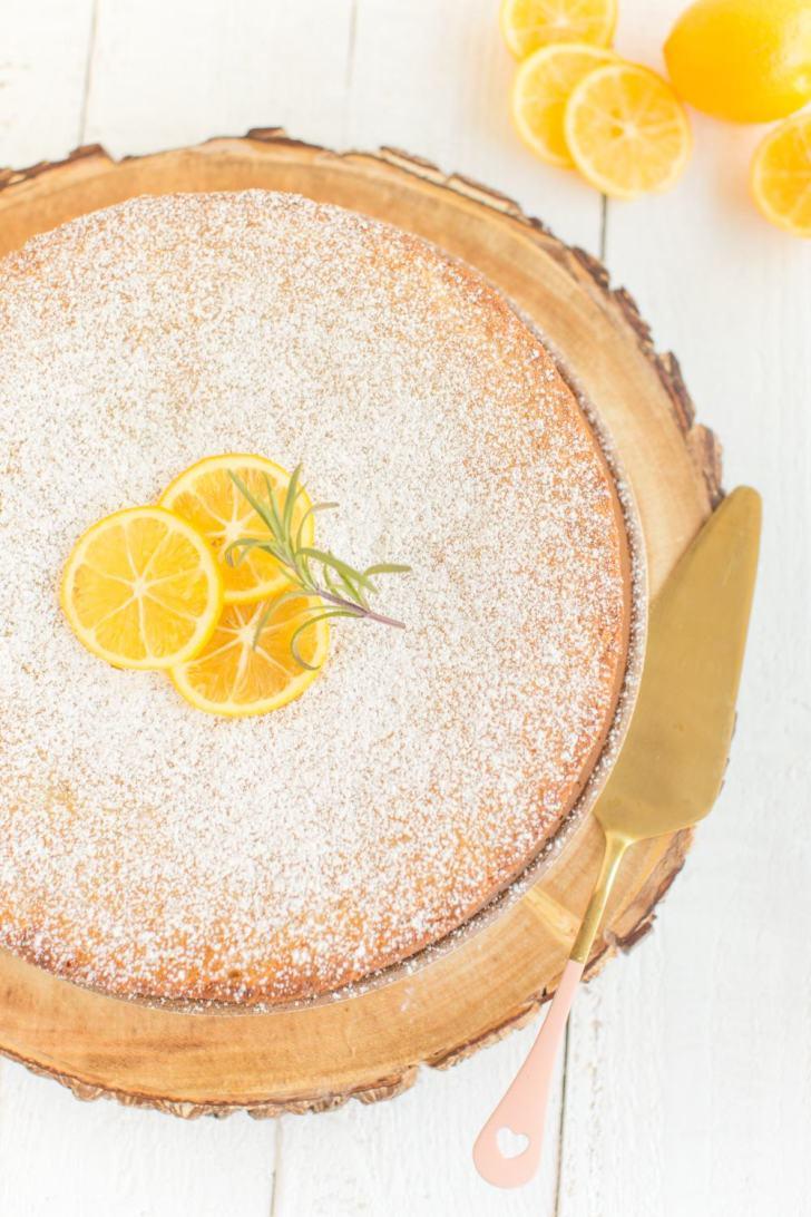 Vegan Lemon Olive Oil Cake Recipe Photos-19