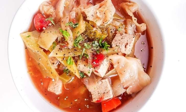 Gluten Free Vegan Cabbage Soup Recipe by PlantYou