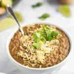 Easy Instant Pot Refried Beans Recipe