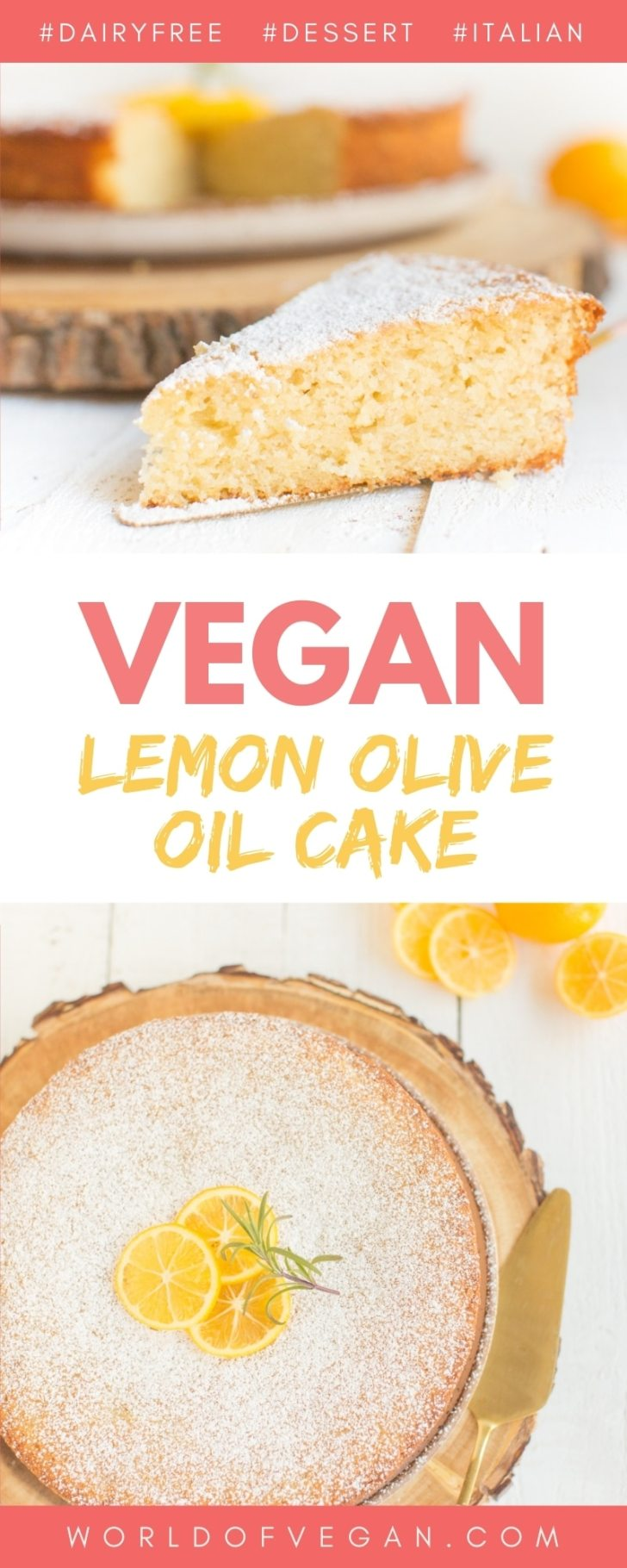 The Best Vegan Lemon Olive Oil Cake