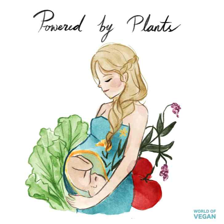 Vegan Mothers Day Art