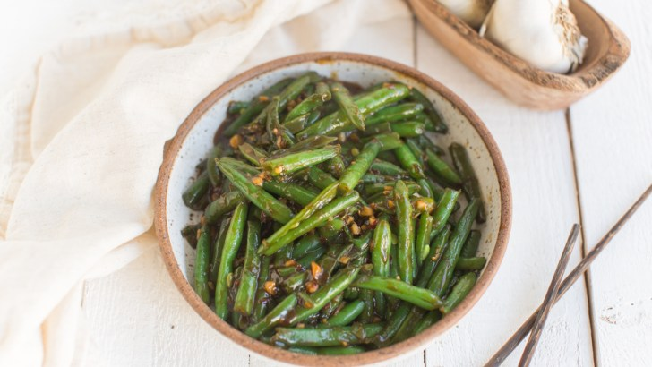 Sizzling Chinese Green Beans