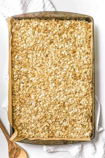 Easy Vegan Maple Brown Sugar Granola Breakfast Recipe-20