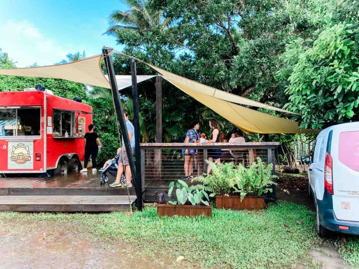 Holey Grail Donuts Vegan Food Truck in Kauai