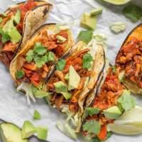 Pulled Oyster Mushroom Tacos