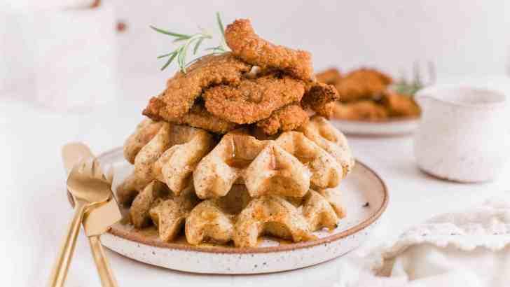 Vegan Chicken & Waffles