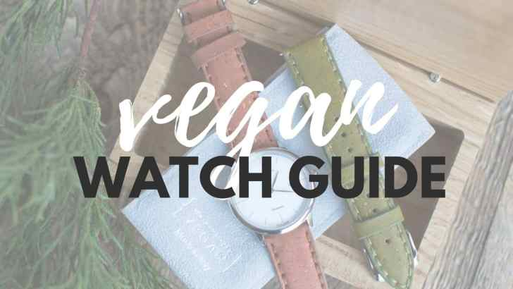 Vegan Watch Guide: Leather-Free & Sustainable Watch Brands You'll Love
