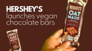 New Hershey's Oat Milk Chocolate Bars—Spotted & 100% Vegan!