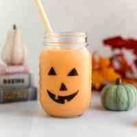 Spooky Jack-O-Lantern Smoothie