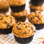The Best Vegan Pumpkin Muffins With Chocolate Chips