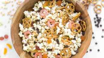 Hocus Pocus Peanut Butter Popcorn