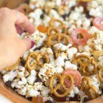 Vegan Halloween Popcorn Party Recipe