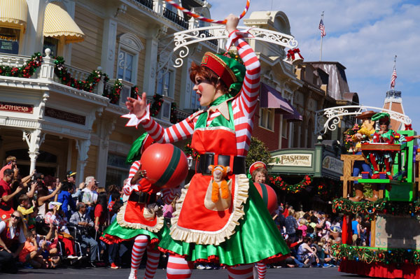 disney s 33rd annual christmas parade world of walt
