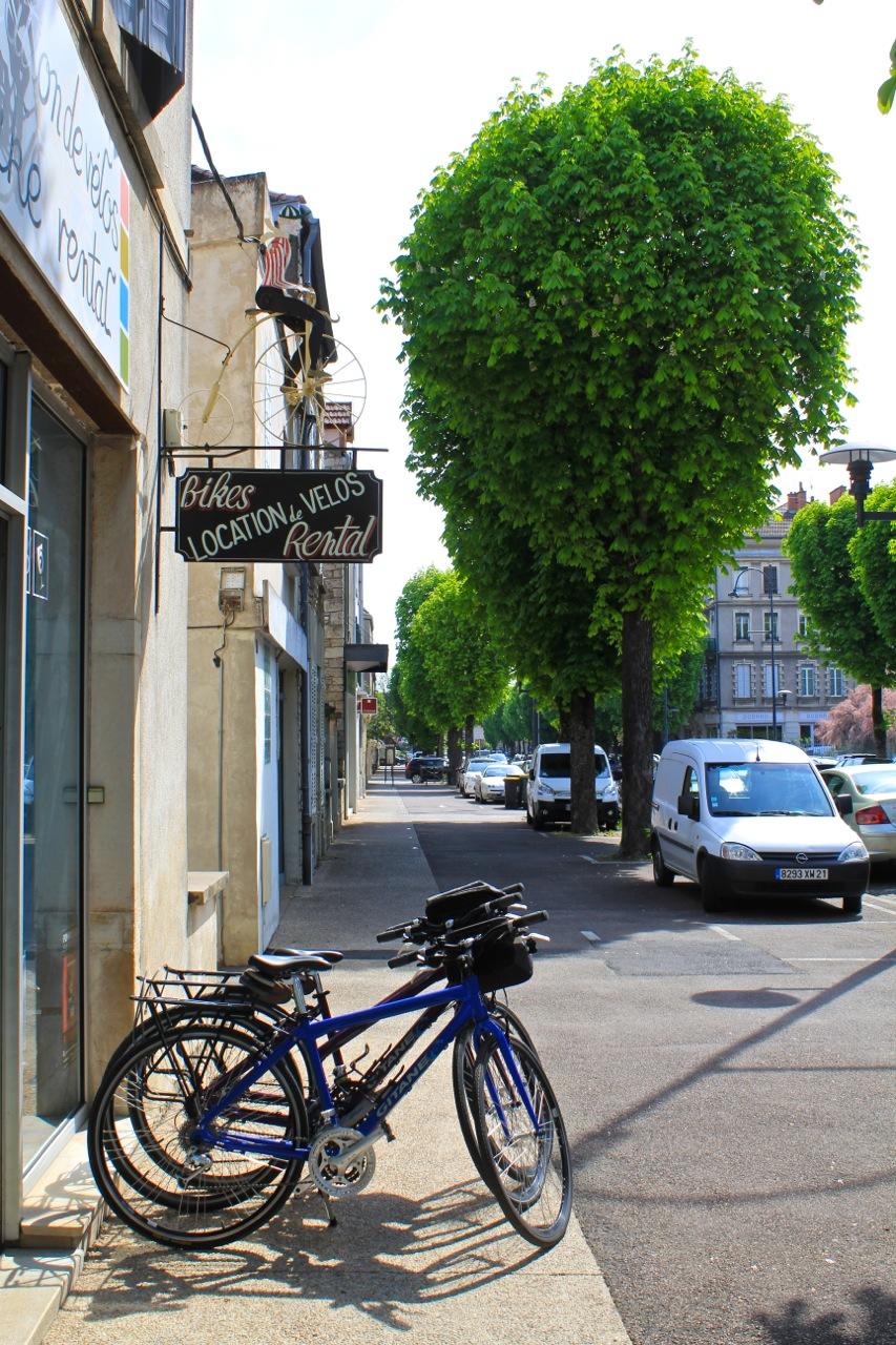 bike ride france