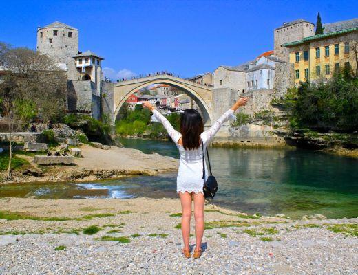 Brooke in Mostar Bosnia | WORLD OF WANDERLUST