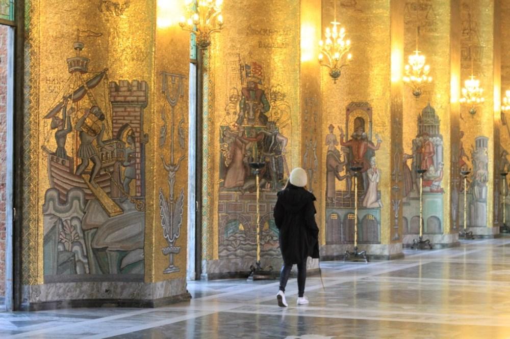 Stockholm gold room