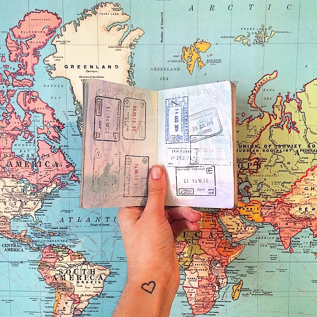 The Ultimate Checklist for Planning LongTerm Travel – World Map For Travel Planning