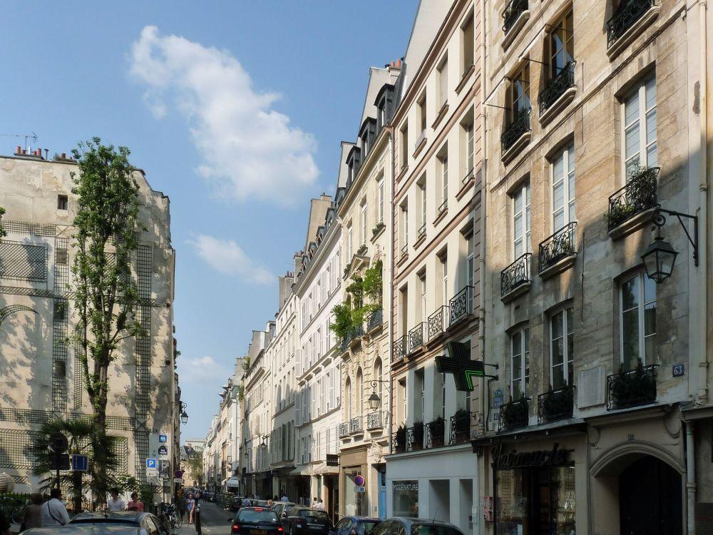 Rue de Seine by Ralf Treinen