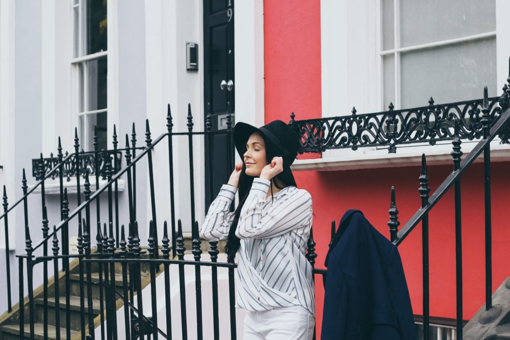 Brooke Saward in Notting Hill