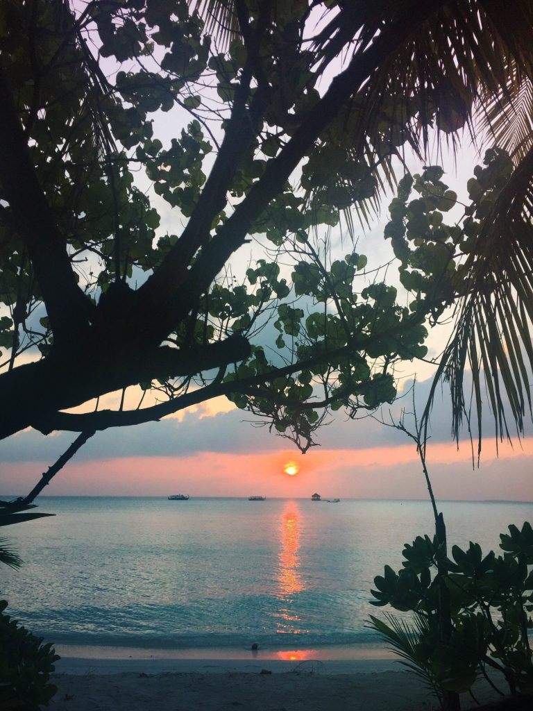 Maldives Sunset