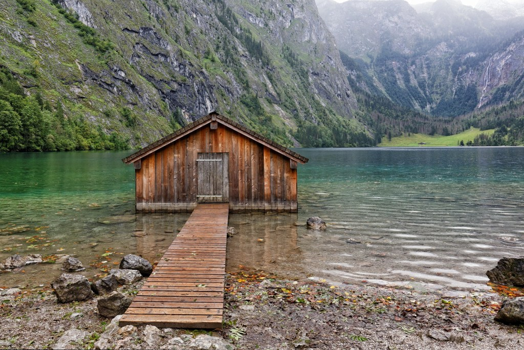 Lake Obersee via Flickr