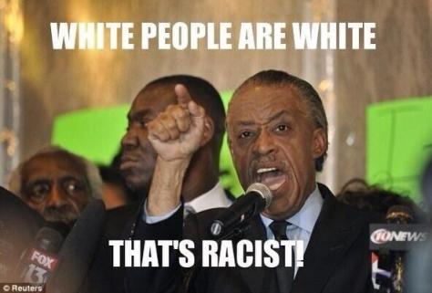 Al Sharpton White people are racist