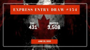 Express Entry Draw #154