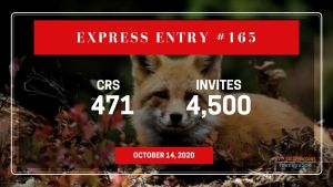 Express Entry Draw #165