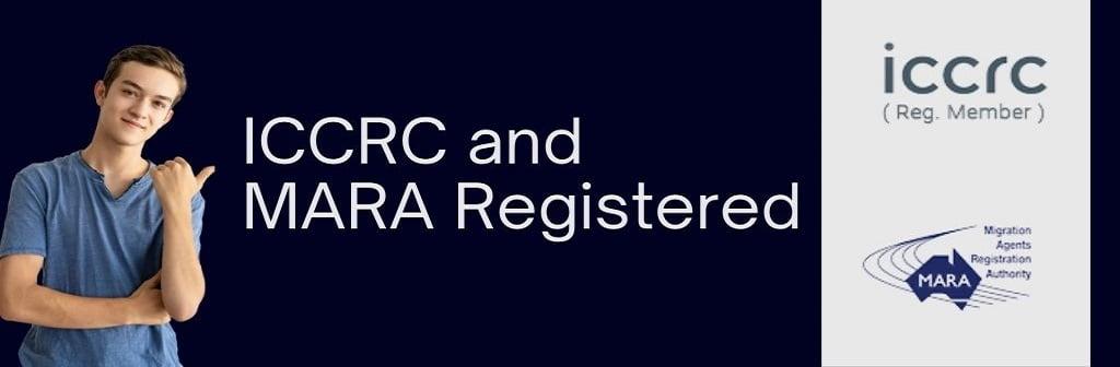 ICCRC and MARA Registered