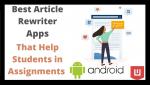 Best Rewriter Apps Intro