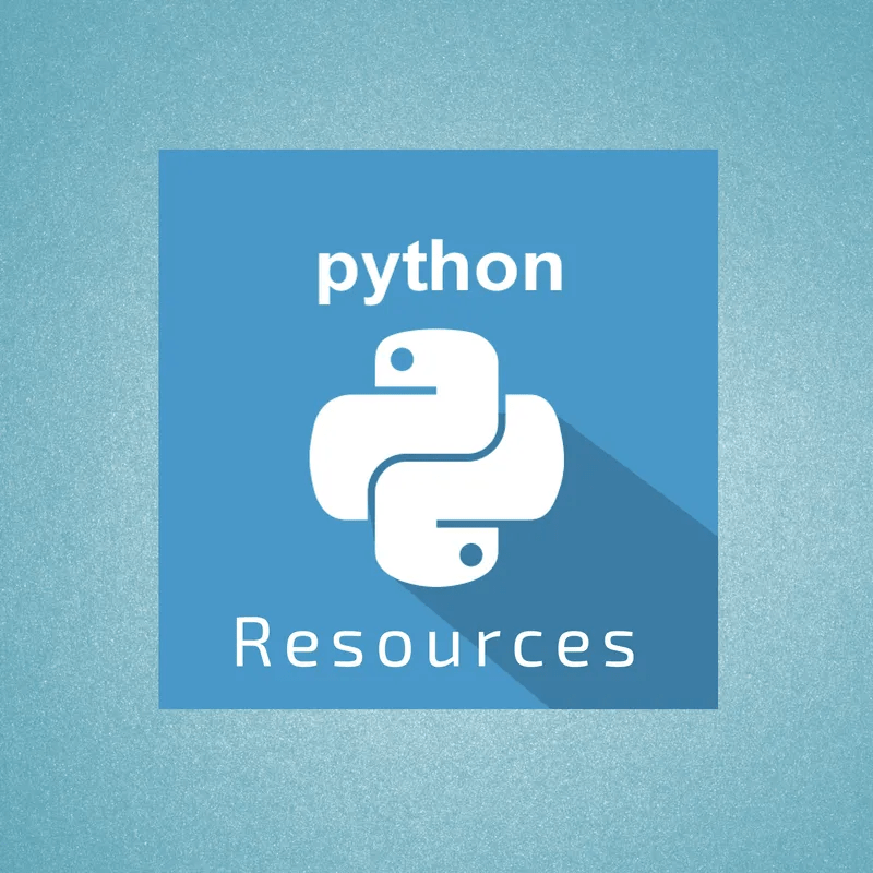 Python Resources Banner