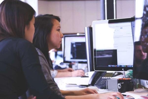 Woman in Office - HR