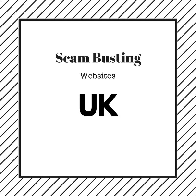 Stop the Scams - UK Scam Busting Websites