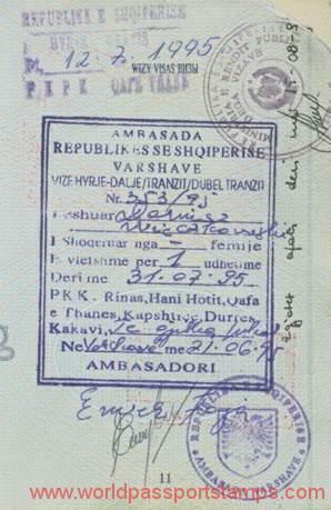 travels to Albania