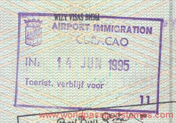 travels and visa to  Curacao