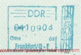 visa to GDR
