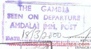 travels to Gambia