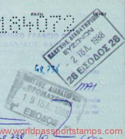documents for visa to Greece