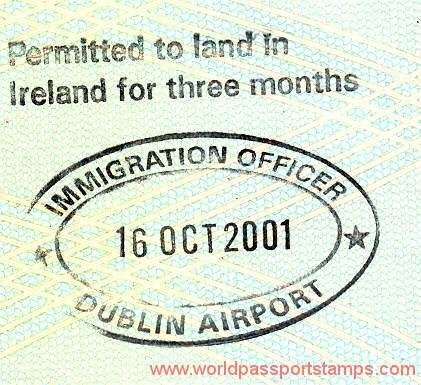 residence in Ireland
