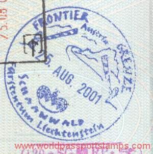 travels to Liechtenstein